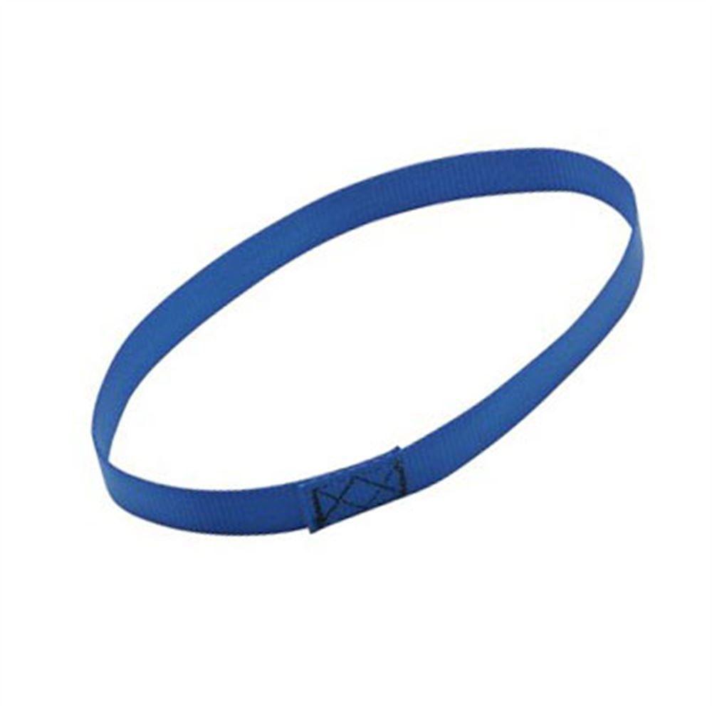 Q5-7580 Blue Webbing Loop Wheelchair Tie-Down