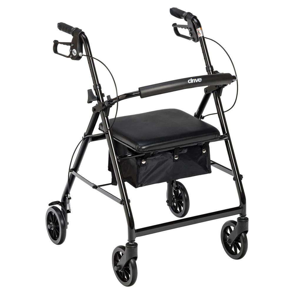 R726 Drive Medical Walker Rollator with 6 Wheels