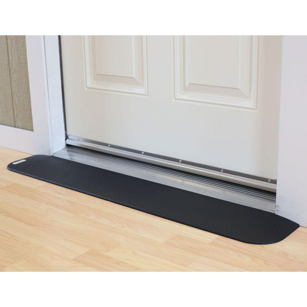 SafePath™ EZ Edge™ Transition Rubber Threshold Ramp - ADA Compliant
