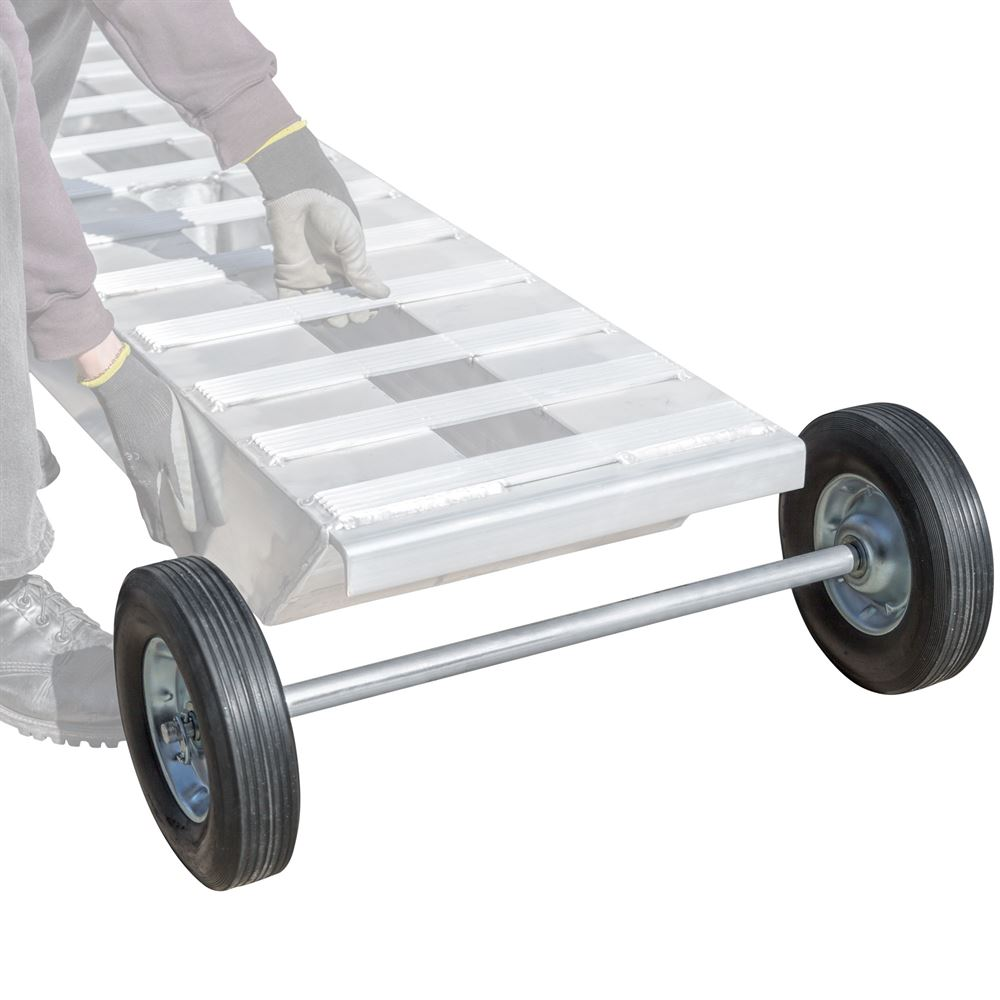 RAMP-DOLLY-22 Heavy Duty Loading Ramp Dolly - 220-lb Capacity