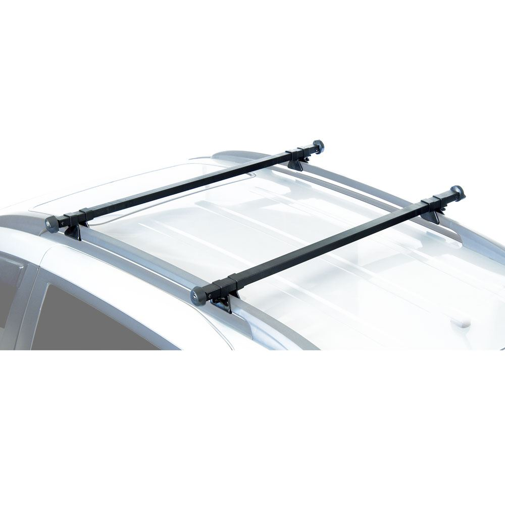 Attach Flush Closed Rails Steel Roof Rack Railing Bars Easy To Fit