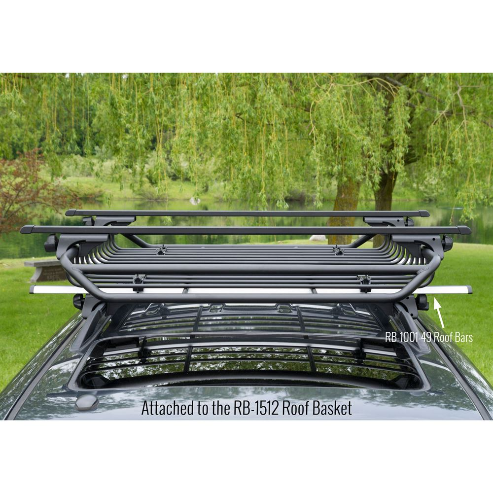 Apex Carbon Steel Deluxe Universal Side Rail Mounted Roof