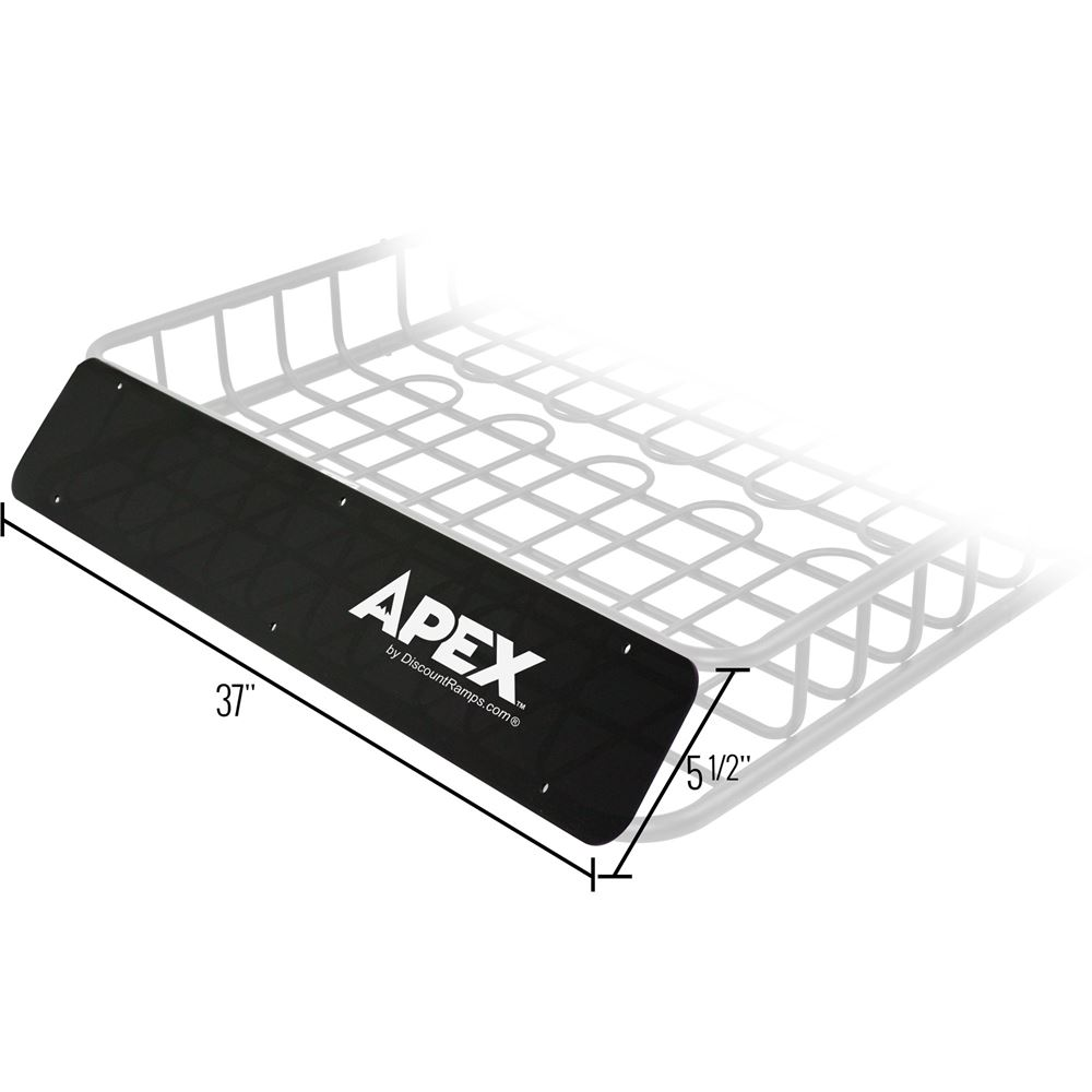 RB-DLX-V2-FR Apex Roof Basket Wind Fairing