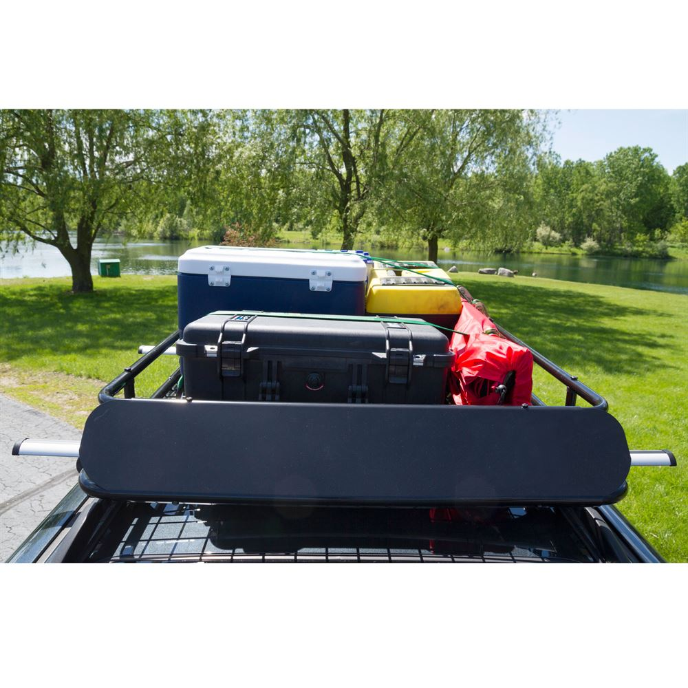 Car Roof Rack >> Apex Steel Roof Cargo Basket With Wind Fairing 48 1 2 L X 36 1 4 W