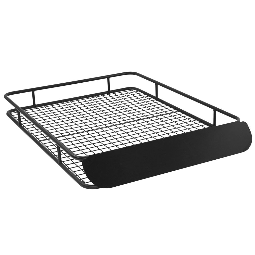 Apex Extra-Large Steel Roof Cargo Basket with Wind Fairing ...