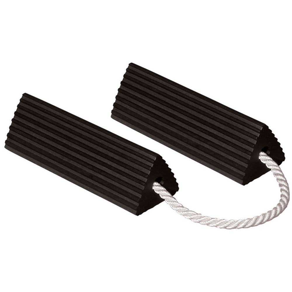 RC5524-P Pair of Roadblock RC5524-P Rubber Triangular Wheel Chock