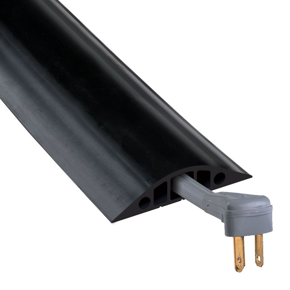RFD5 3-Channel Checkers Rubber Duct Protector for 34 Diameter Cords