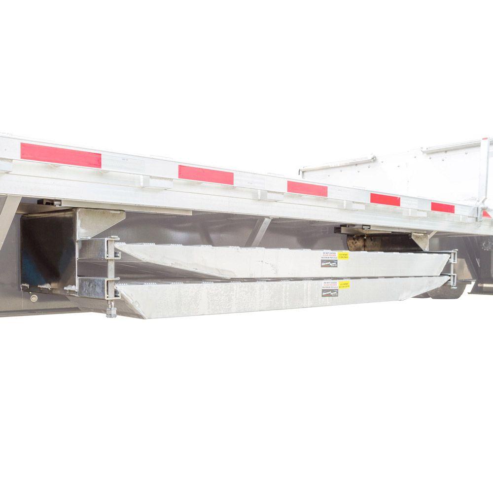 RHD-5C-28 Clamp-On Semi-Trailer Loading Ramp Storage Brackets - for Trailers With Knee Braces