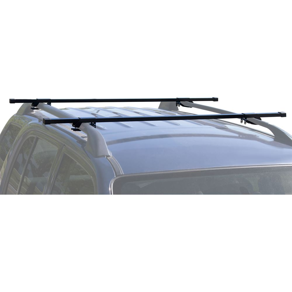 Apex Steel Universal Side Rail Mounted Roof Cross Bars 55 Long Discount Ramps