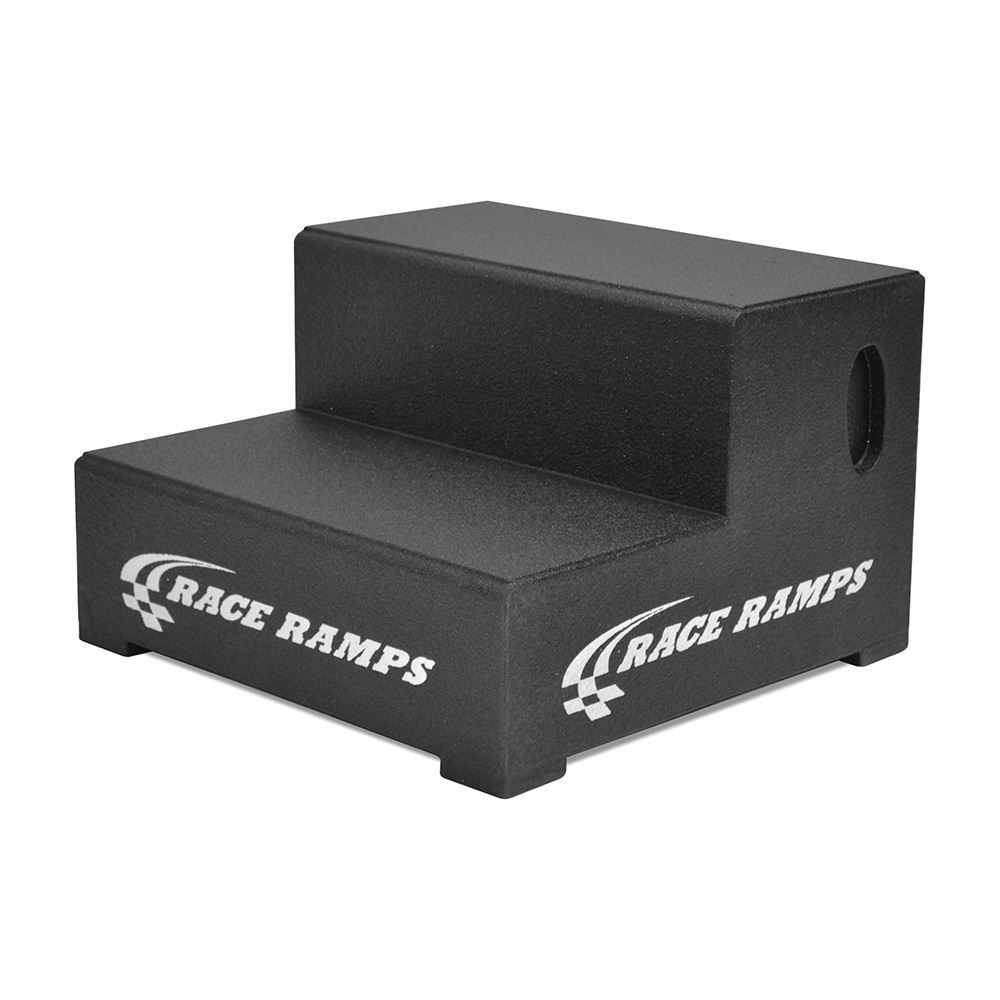 RR-2STEP-24-DR Race Ramps 24 Wide Two-Step Trailer Step