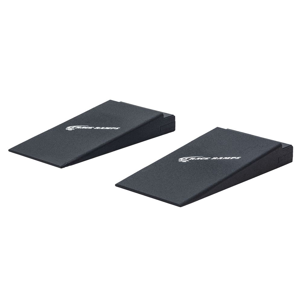 RR-RACK-4-DR Race Ramp Solid Rack Ramps for Service Platform with Built-In Ramps - 3000 lbs Capacity