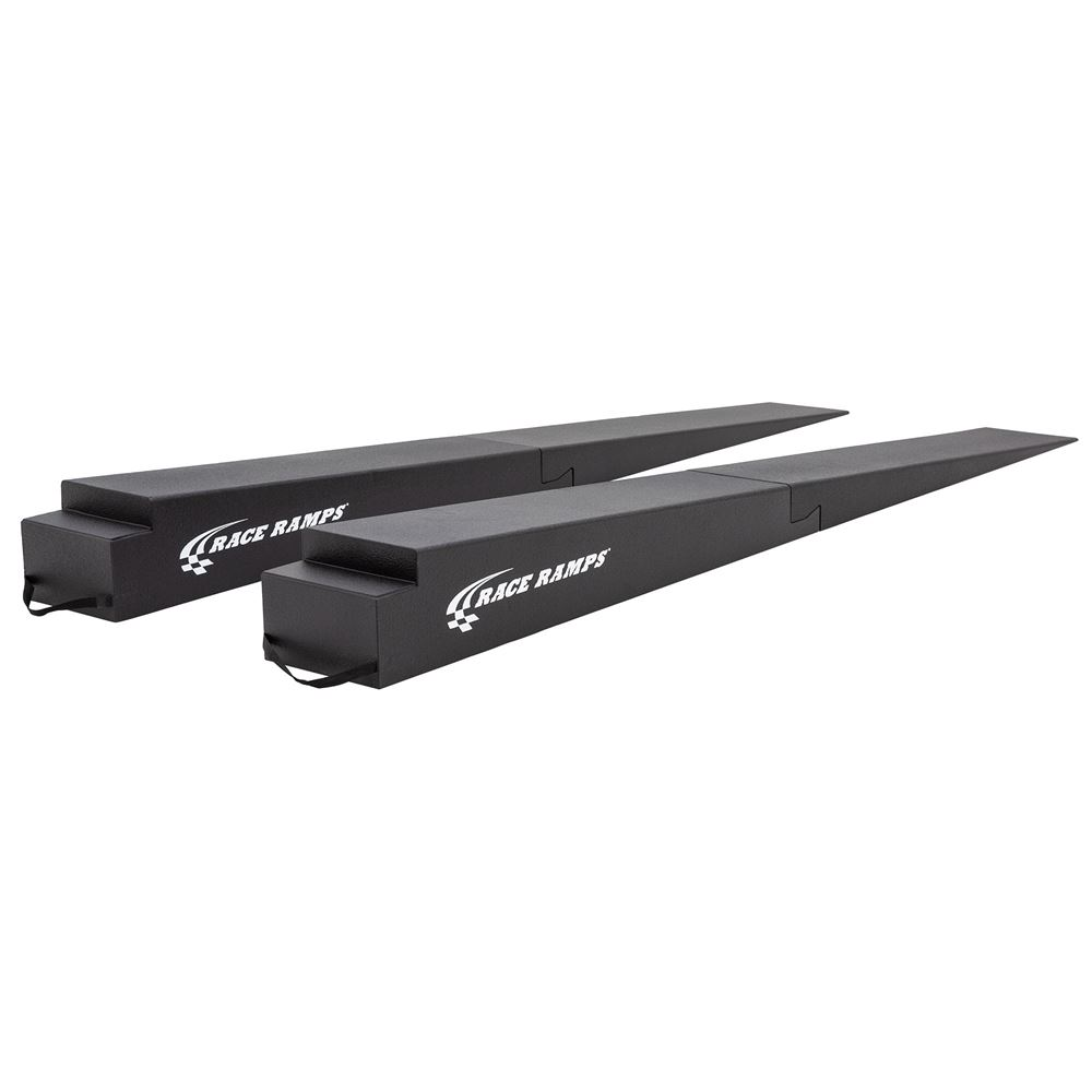 RR-TR-11-2 Race Ramps Solid 2-Piece GT Car Trailer Ramps - 6000 lbs Capacity 1