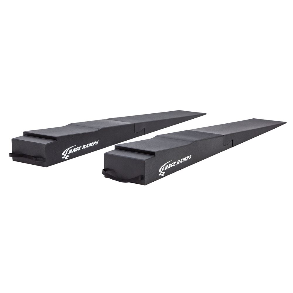 RR-TR-9-FLP-DR Race Ramps Trailer Ramp with Flap Cutout - 1500 lb per tire Capacity
