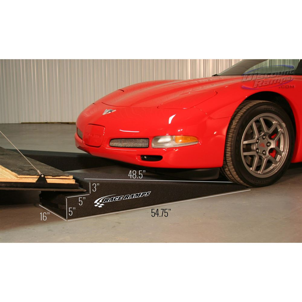 RR-TR Race Ramps Solid Car Trailer Ramps - 3000 lb Capacity 2