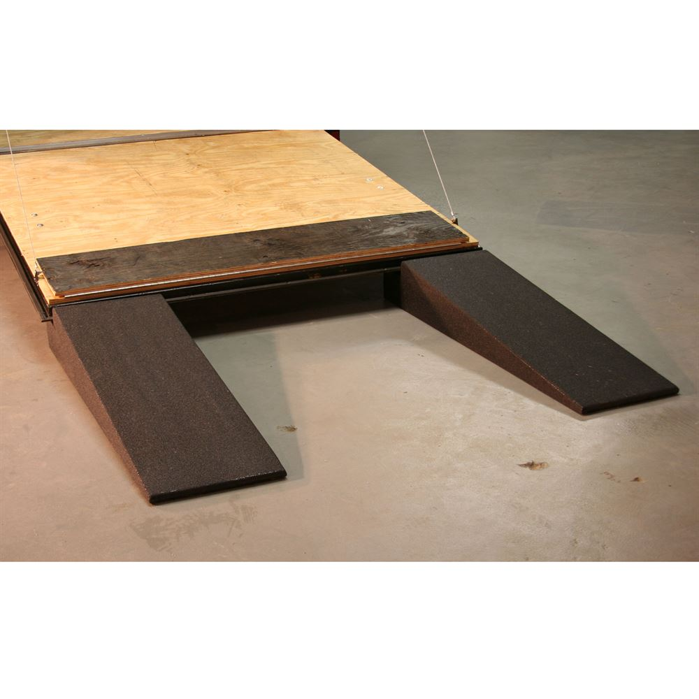 RR-TR Race Ramps Solid Car Trailer Ramps - 3000 lb Capacity 3