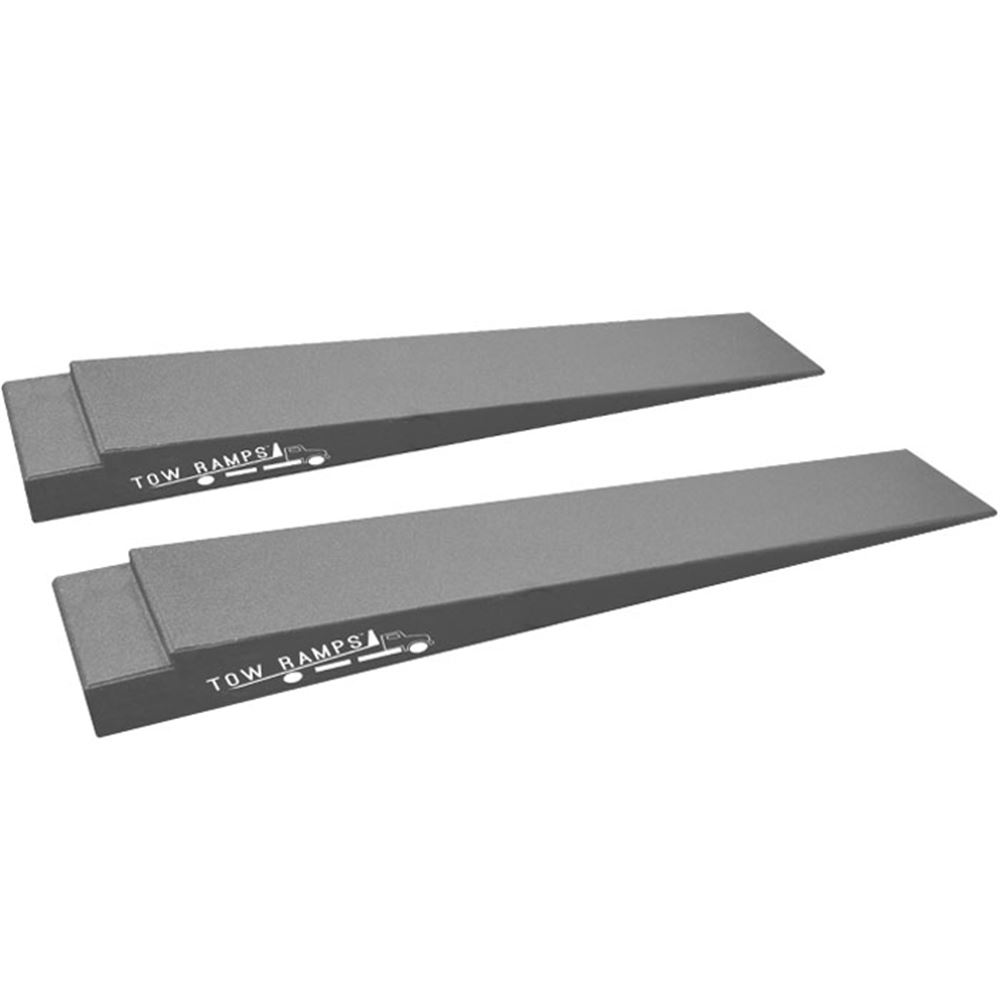 RR-TT-5 Race Ramps Solid Car Tow Ramps for Flatbed Tow Truck - 10000 lb Capacity
