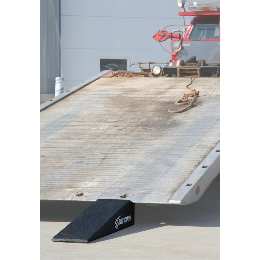 RR-TT-7-10-2 Race Ramps Solid 2-Piece Car Tow Ramps for Flatbed Tow Trucks - 5000 lb Per Axle Capacity 1