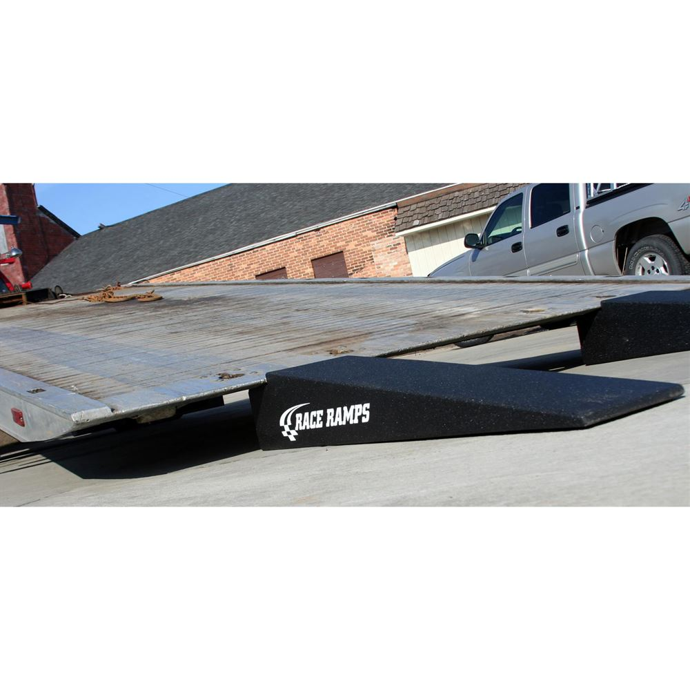 RR-TT-7-10-2 Race Ramps Solid 2-Piece Car Tow Ramps for Flatbed Tow Trucks - 5000 lb Per Axle Capacity 2