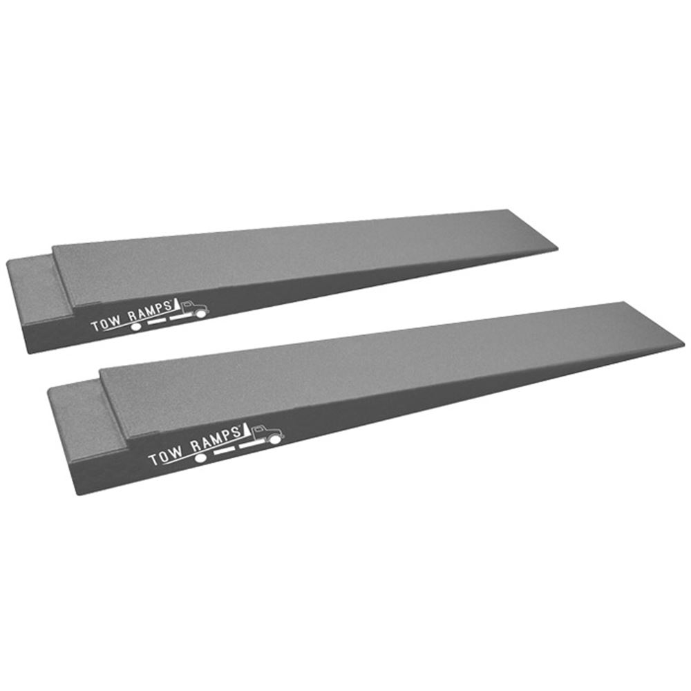 RR-TT-7-10 Race Ramps Solid Car Tow Ramps for Flatbed Tow Truck - 5000 lb Per Axle Capacity