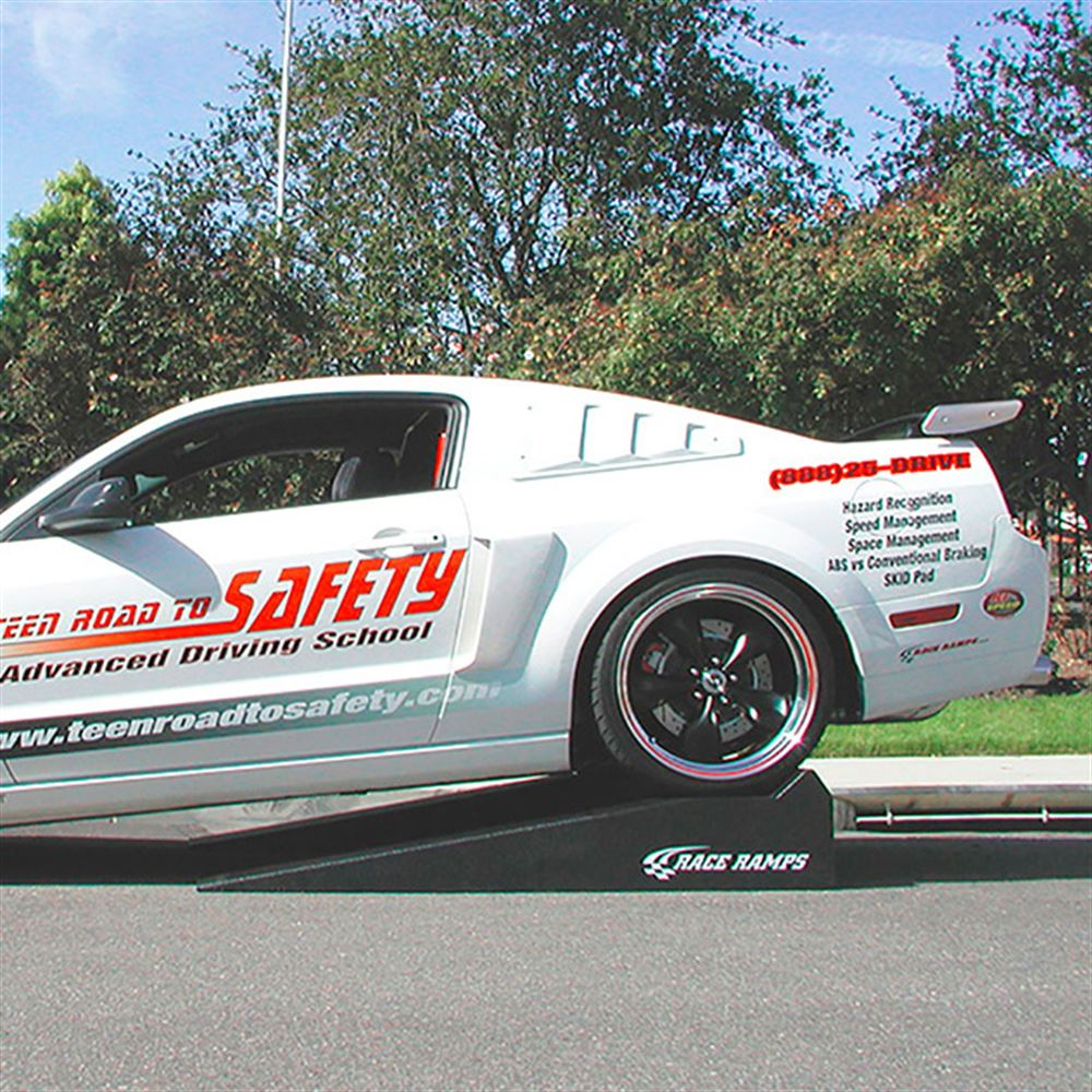 Low Clearance Sports Cars Race Ramps Solid Low Profile Car