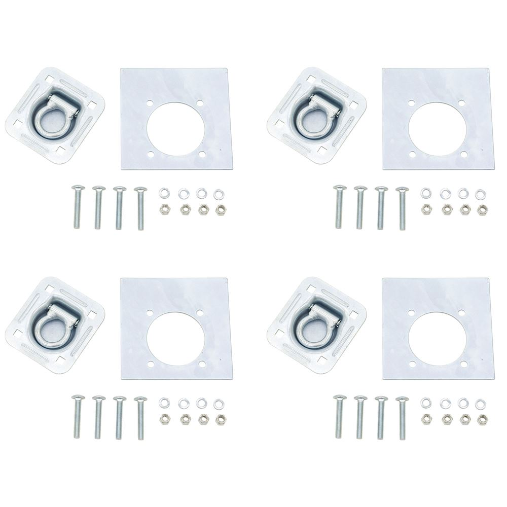 RTD-1-4 4-Pack Apex Recessed Tie Down Ring for Trailer Loading