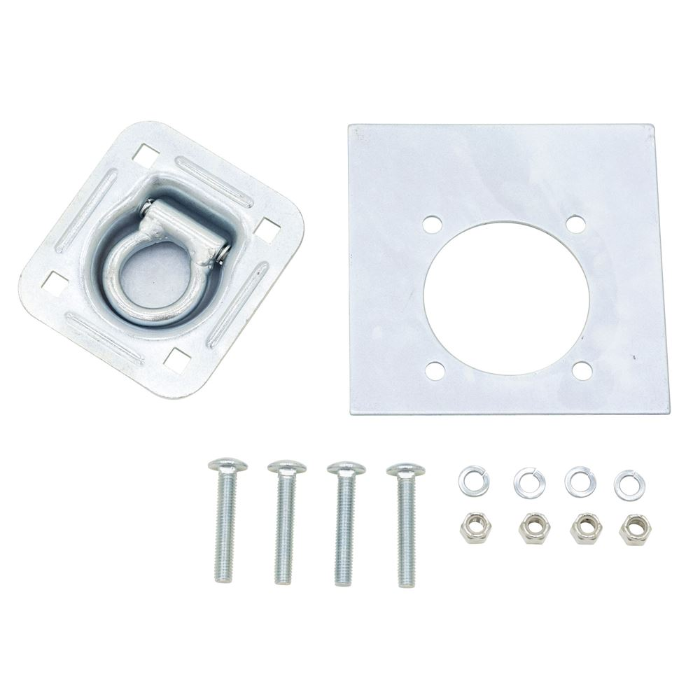 RTD-1 Apex Recessed Tie Down Ring for Trailer Loading - Single
