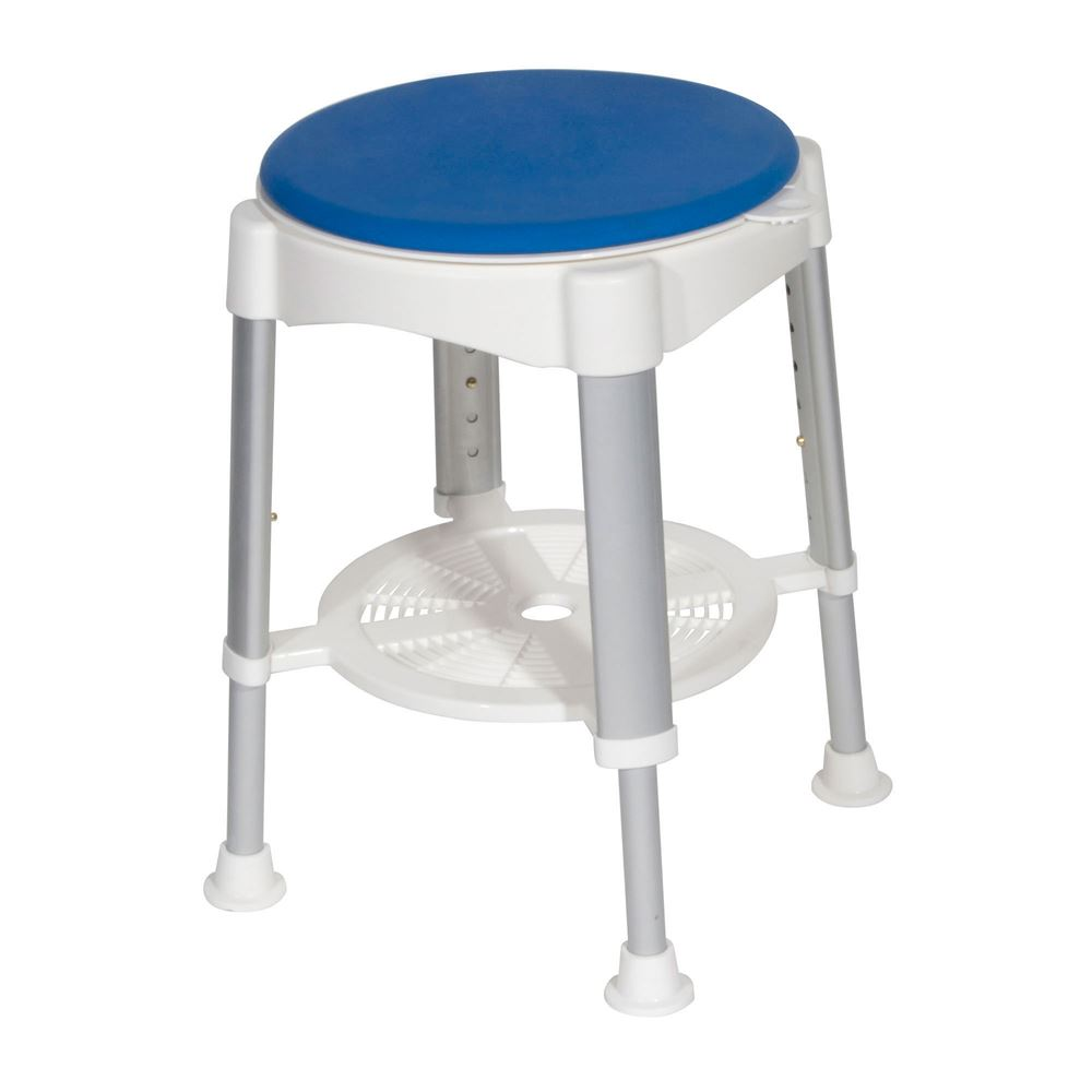 RTL12061 Drive Medical Bath Stool with Padded Rotating Seat