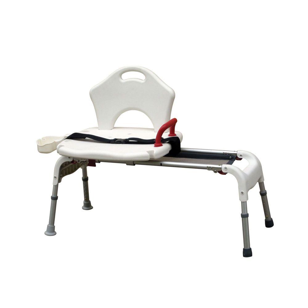 RTL12075 Drive Medical Folding Universal Sliding Transfer Bench
