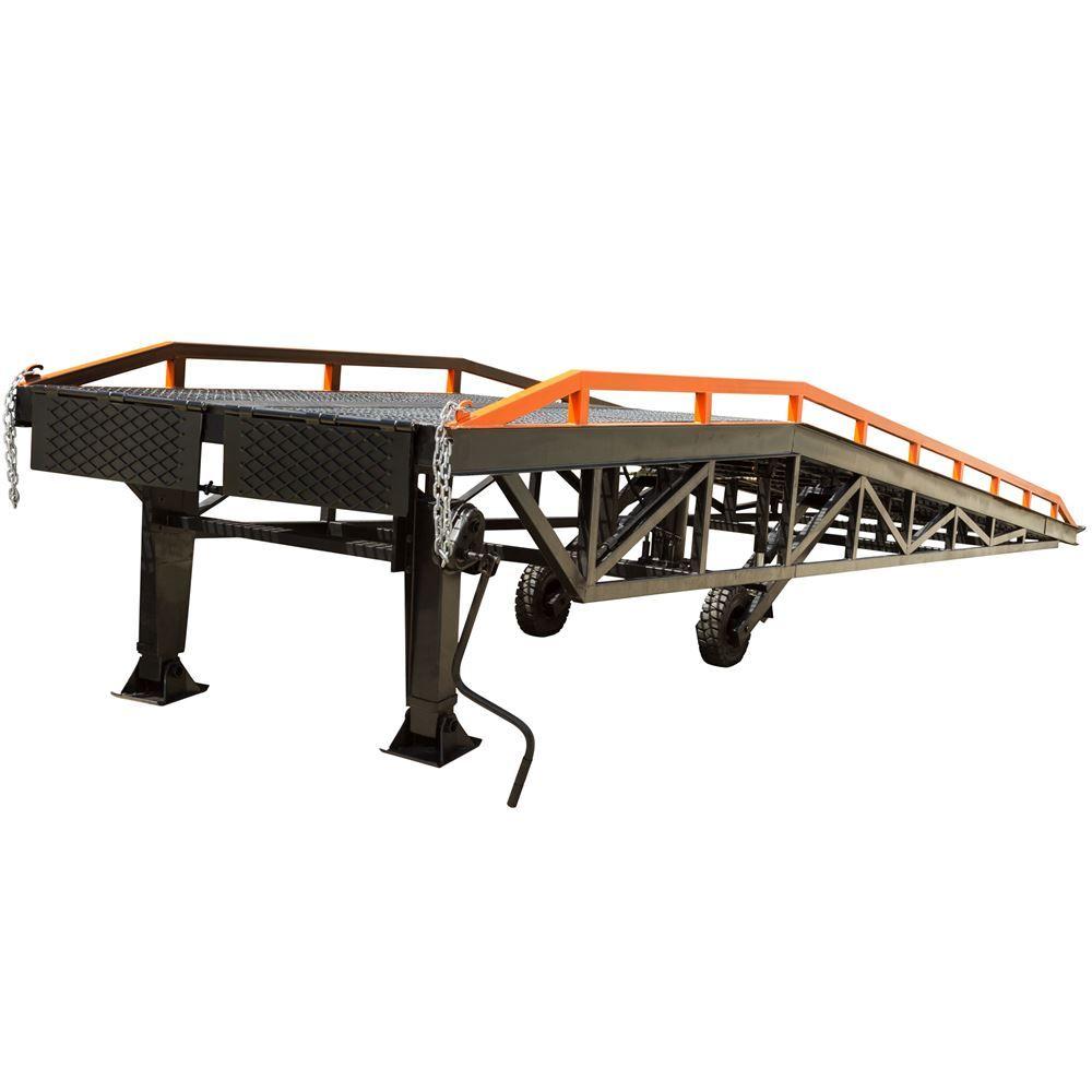 RYR-37-22 Steel Portable Yard Ramp - 22000 lb Capacity 5