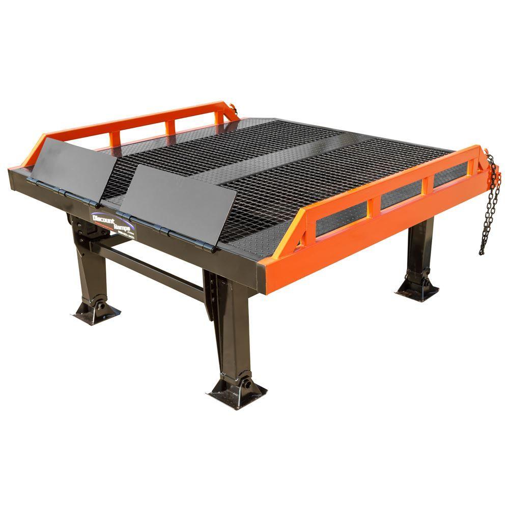 RYR-8-22 Steel Yard Ramp Platform - 22000 lb Capacity