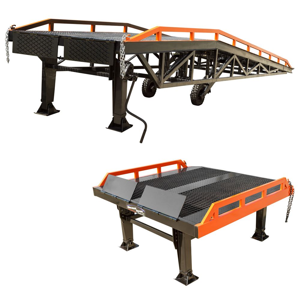 RYR-PLATFORM Steel Yard Ramp and Platform Kit - 22000 lb Capacity