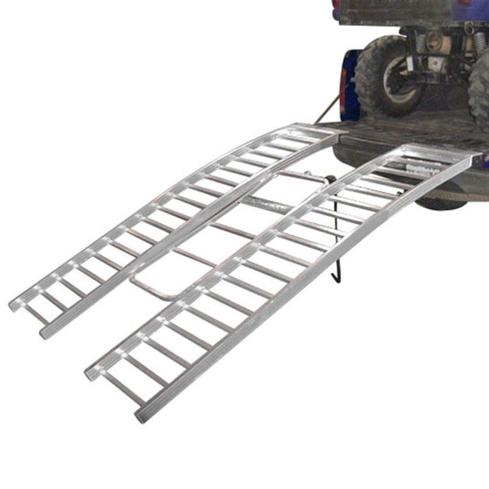 Aluminum Atv Ramps >> Bosski Aluminum Revarc Tri Fold Arched Atv Ramp