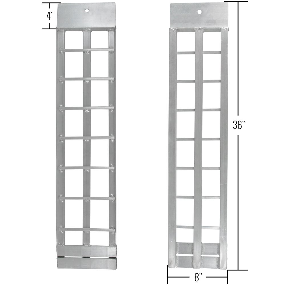 Shed ramp dimensions