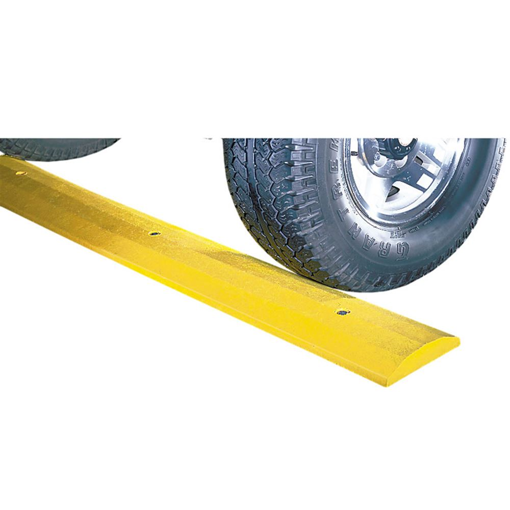SB4D-H-LAG 4 Long Deluxe Plastic Speed Bump - Lag Bolt Hardware