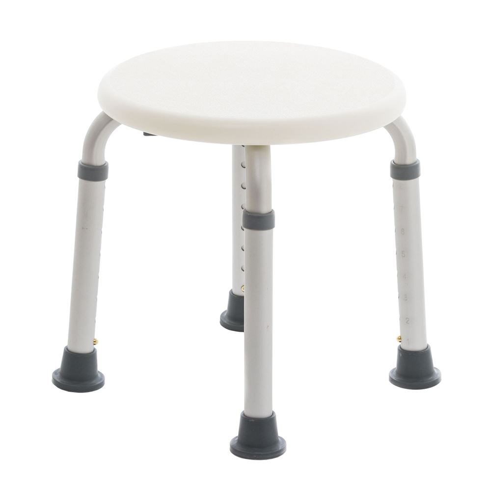 Silver Spring Round Shower Stool | Discount Ramps