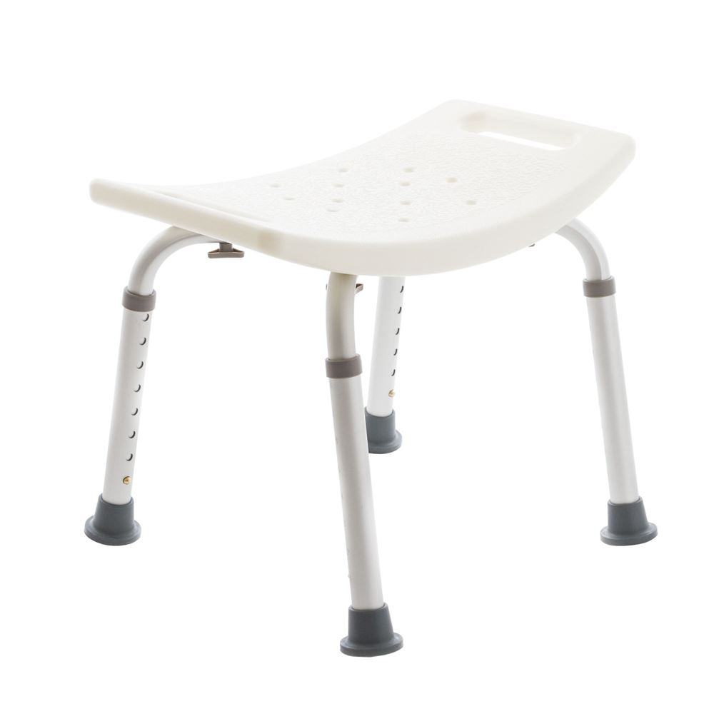 SBA101 Silver Spring Shower Chair Without Back