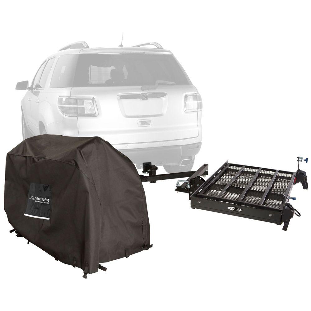SC400-DK-SC Scooter - Silver Spring Steel Premium Travel Kit - 400 lb Capacity