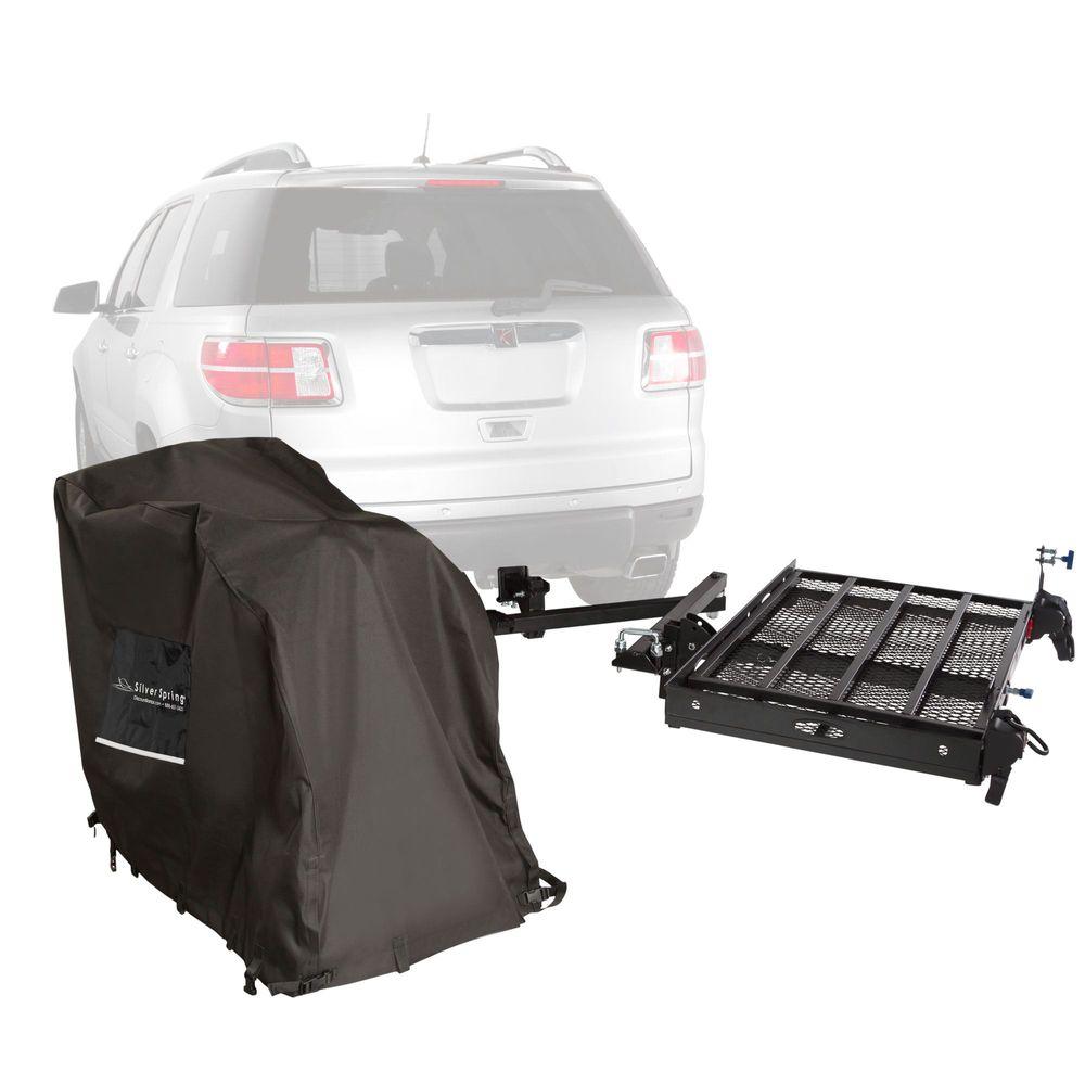 SC400-DK-WC Power Chair - Silver Spring Steel Premium Travel Kit - 400 lb Capacity