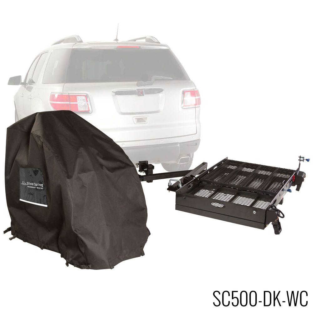 SC500-DK-WC Power Chair - Silver Spring Steel Premium Travel Kit - 500 lb Capacity