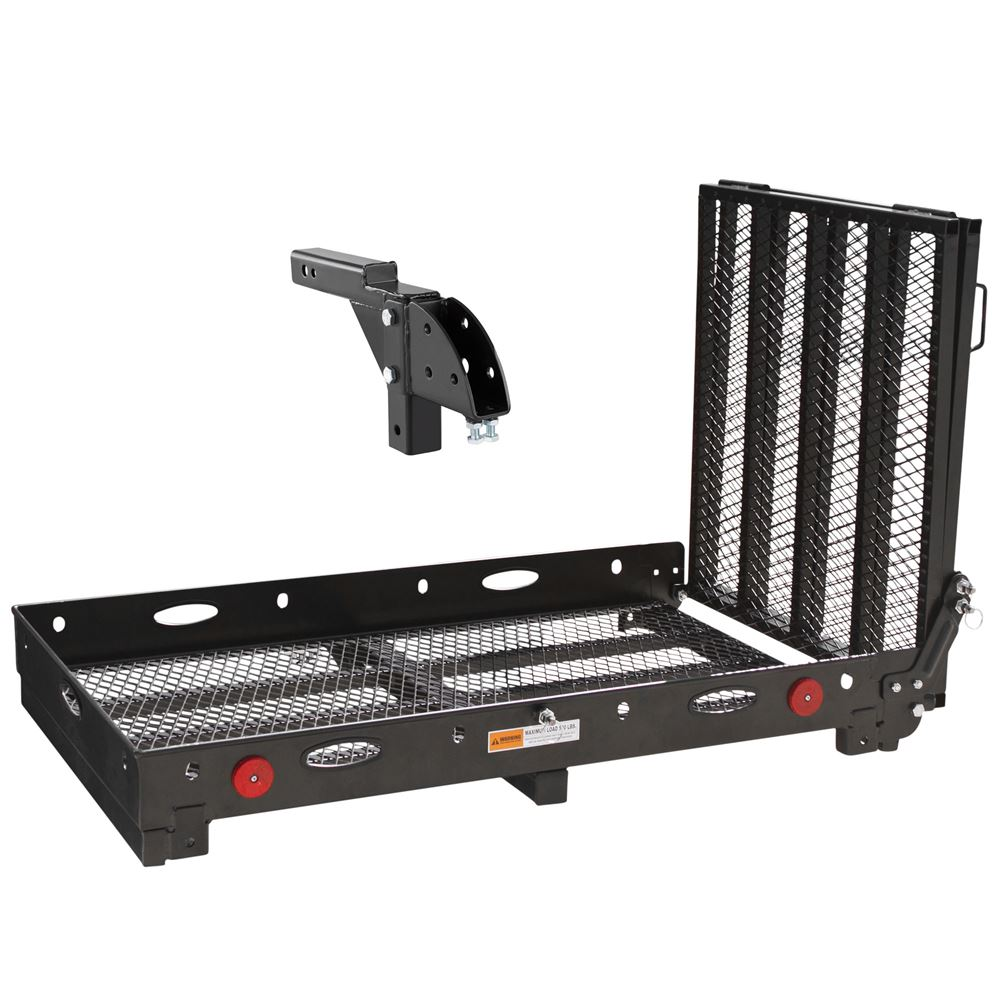 Silver Spring Deluxe Steel Folding Trailer Hitch