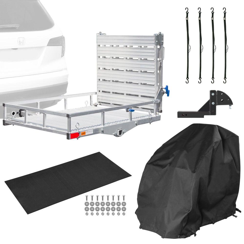 SC500AF-EK Silver Spring Aluminum Premium Travel Kit - 500 lb Capacity