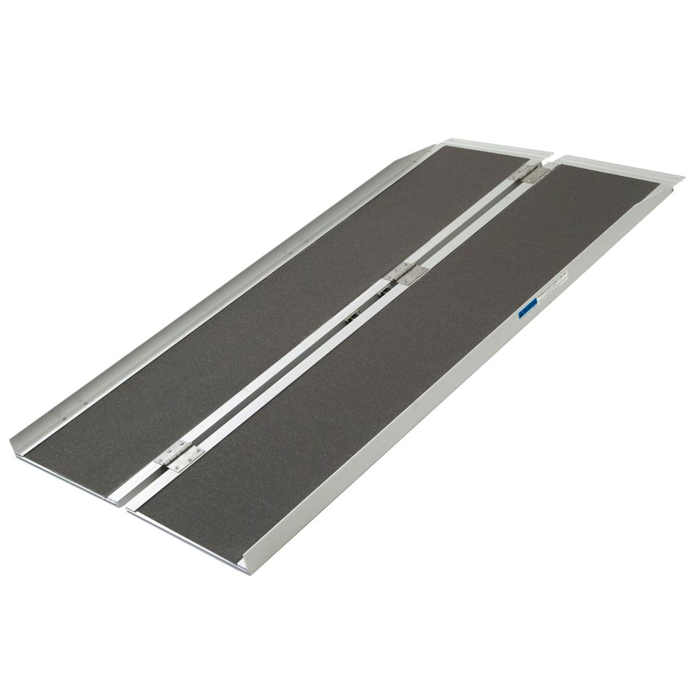 SCGPLUS Silver Spring Single-Fold Wheelchair Ramp - 600 lb Capacity