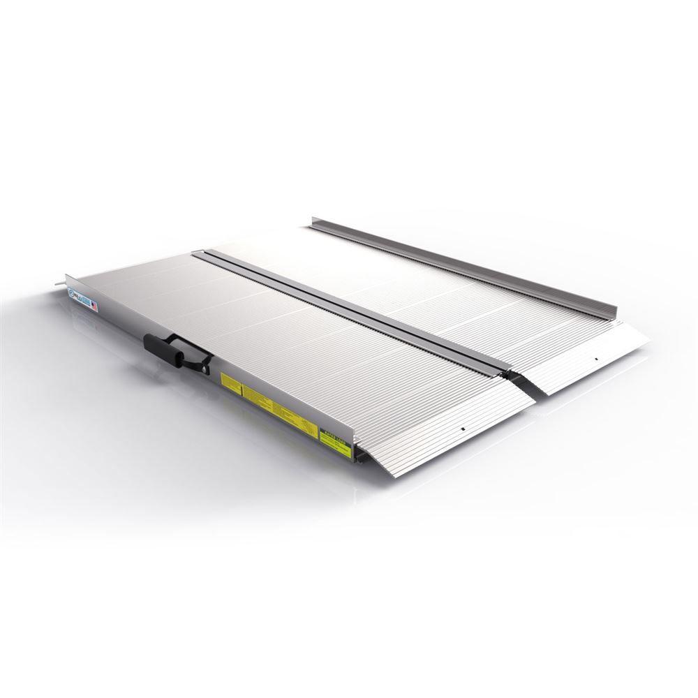SF04 4 L EZ-ACCESS Traverse Aluminum Single-Fold Ramp