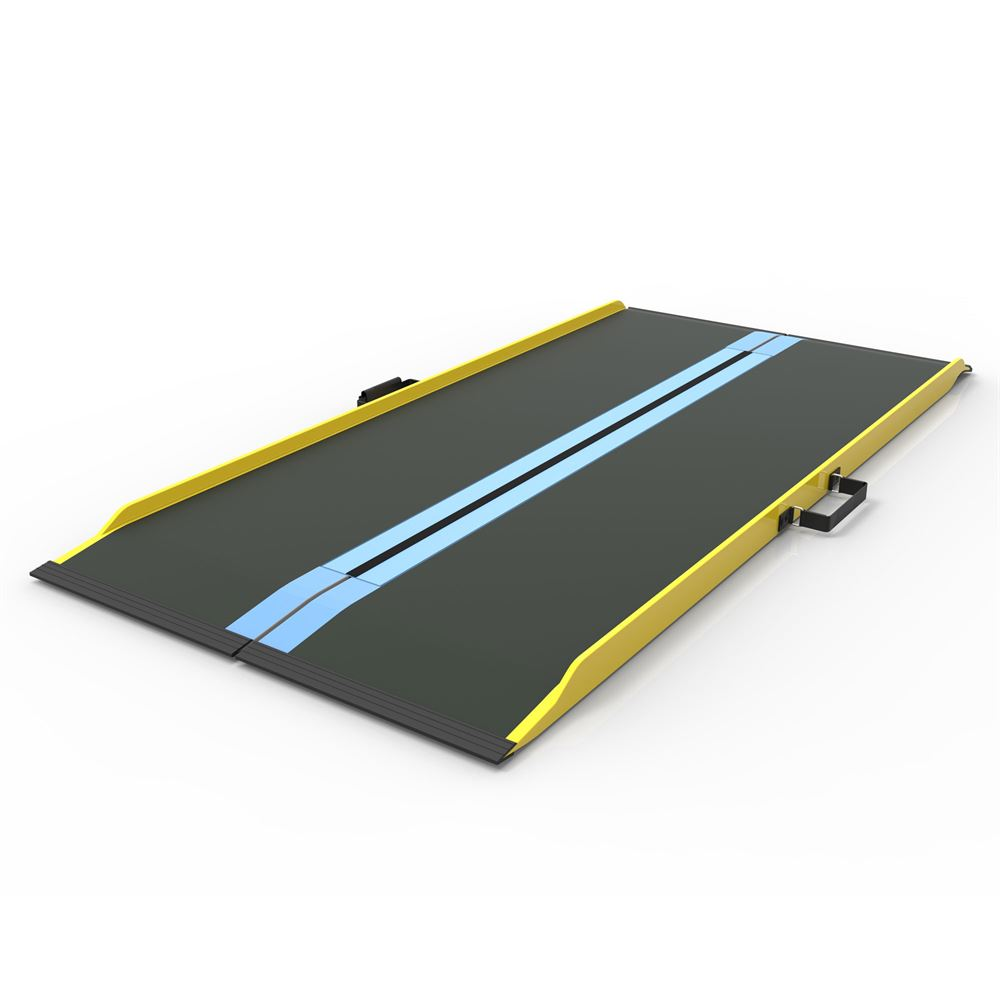 SFGF-Ramp EZ-Access Graphite Fiber Suitecase Singlefold Wheelchair Ramps