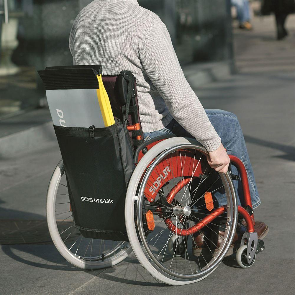 SFGF-Ramp EZ-Access Graphite Fiber Suitecase Singlefold Wheelchair Ramps 6