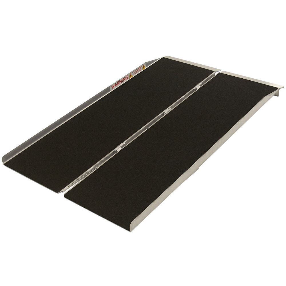 SFW530 5 L PVI Aluminum Single Fold Threshold Ramp