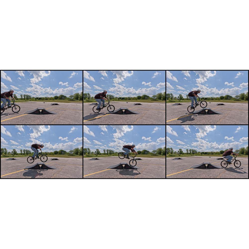 SK-900 12 High Double Launch Skateboard Ramp Kit 2
