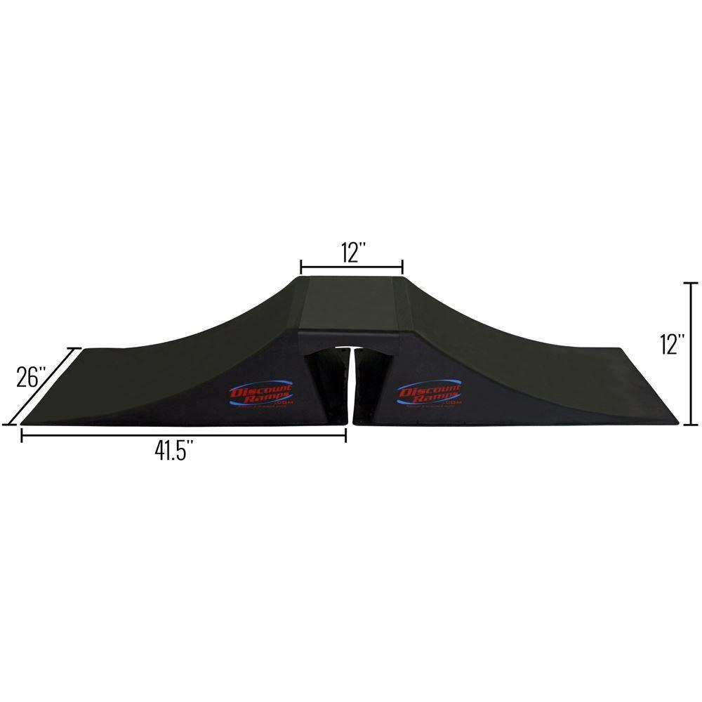 SK-900 12 High Double Launch Skateboard Ramp Kit 4