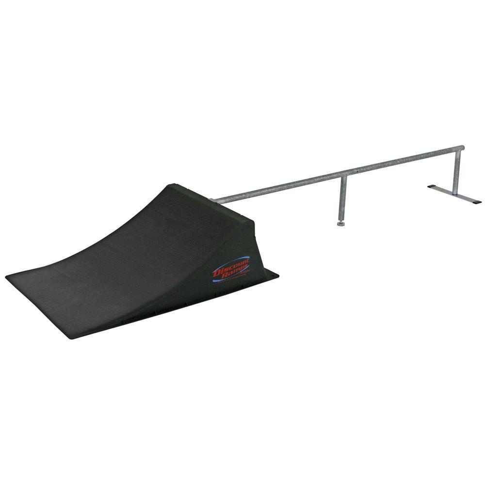 SK-904 12 High Skateboard Launch Ramp  Rail Kit