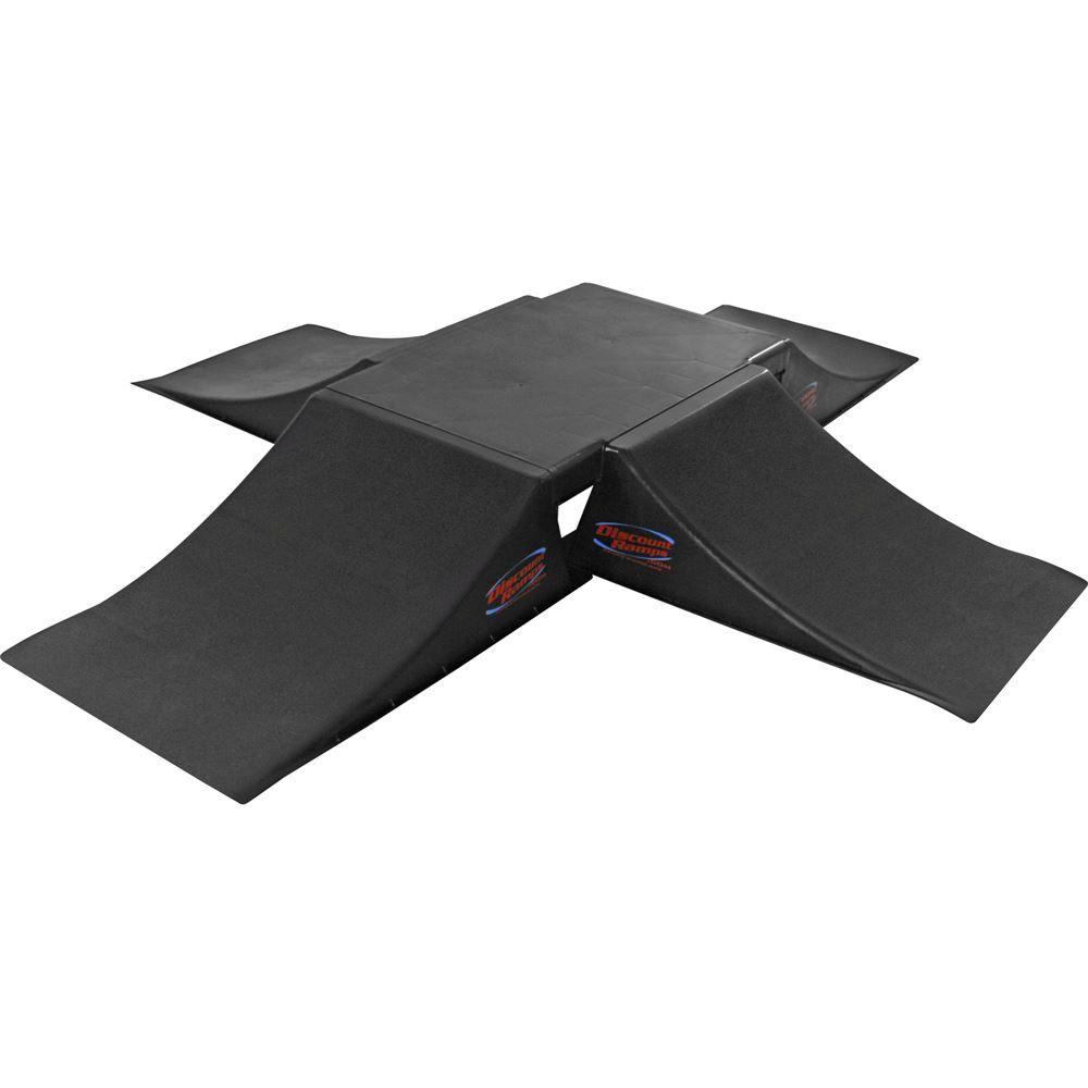 SK-905-4RK 12 High Full Fly Box Skateboard Launch Ramp Kit